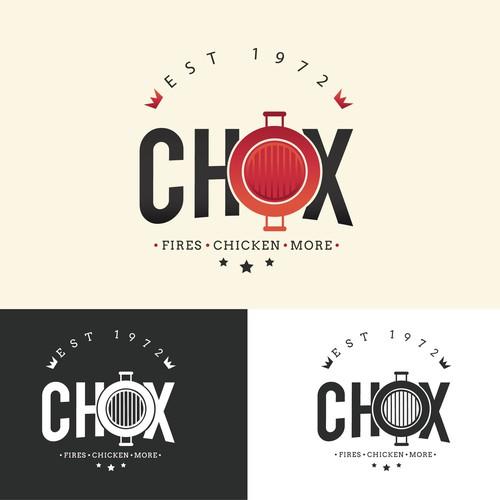CHOX logo design