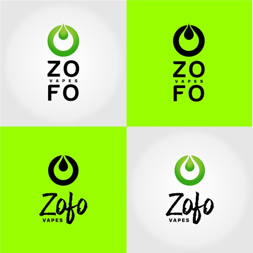 Logo concept for Zofo Vapes