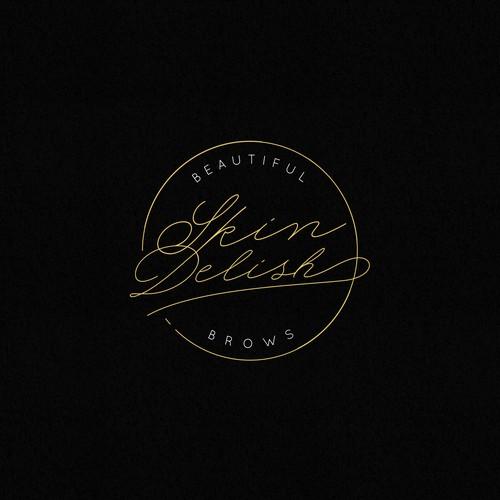 Luxurious Logotype for SkinDelish