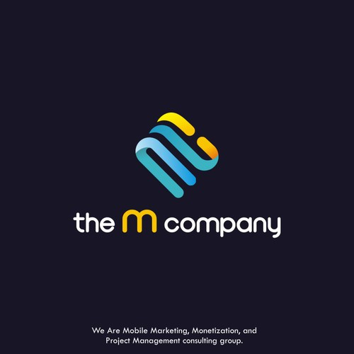 Logo for the m company