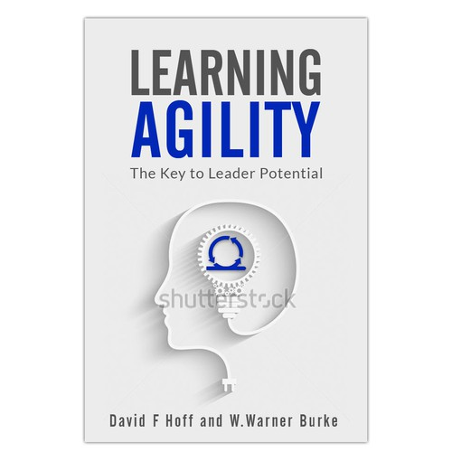 Book cover for a book about agility in business.