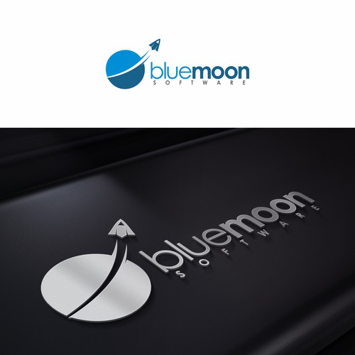 Blue Moon: Have fun creating a modern, playful, and business approriate logo for Blue Moon Software