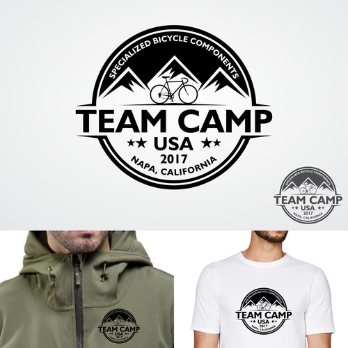 "Logo for ""TEAM CAMP USA"""