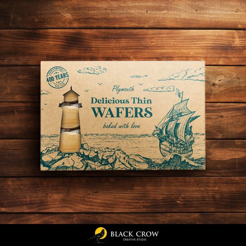 Delicious thin wafers