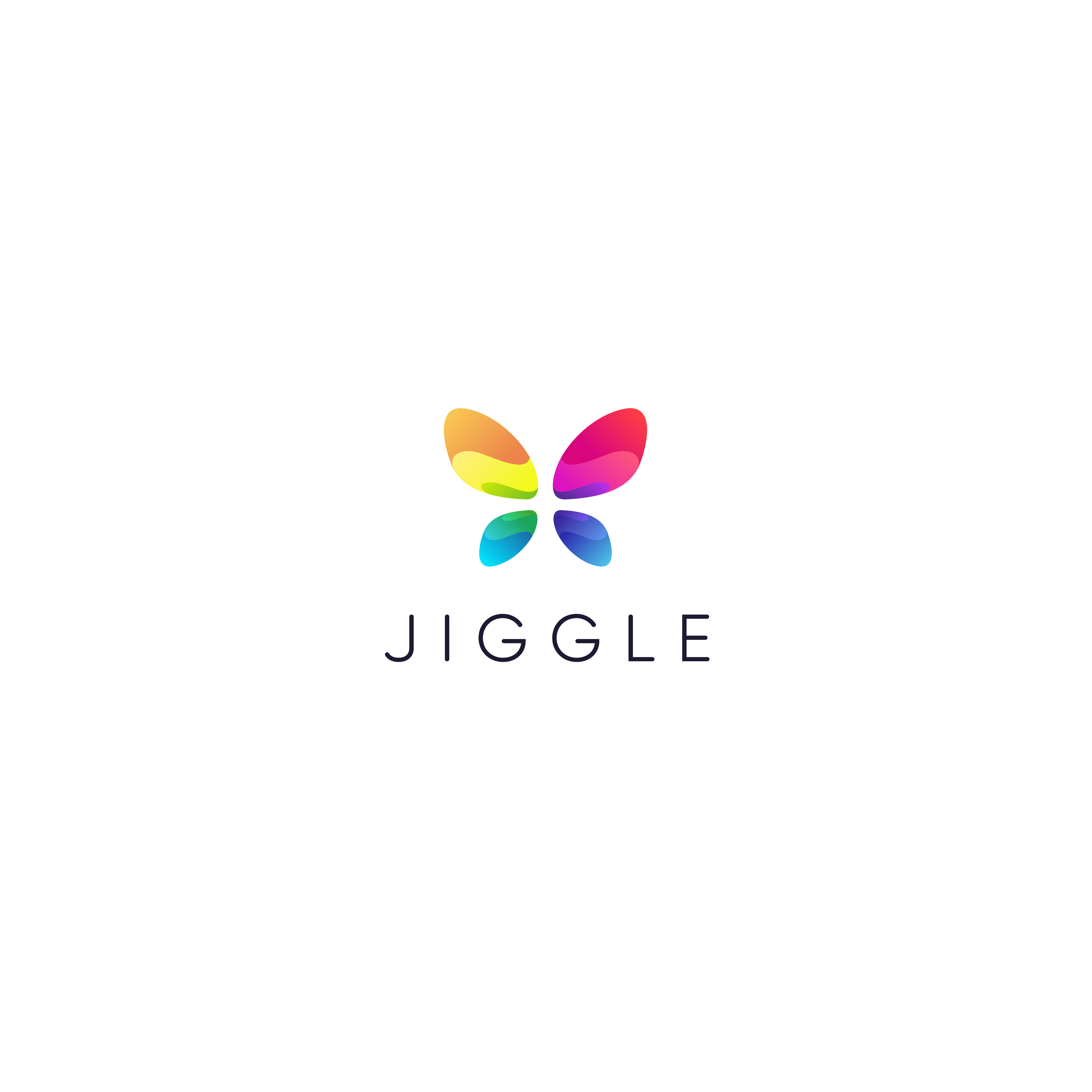 """Hip logo for internet business """"jiggle"""". We like to see animals! Owls, monkeys, hippos....etc. Most important thing: Col"""