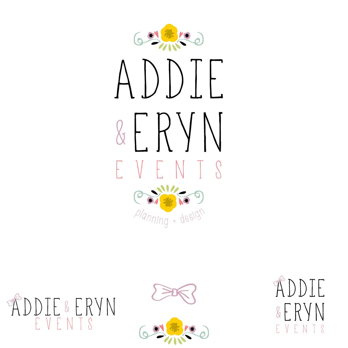logo for Addie & Eryn Events
