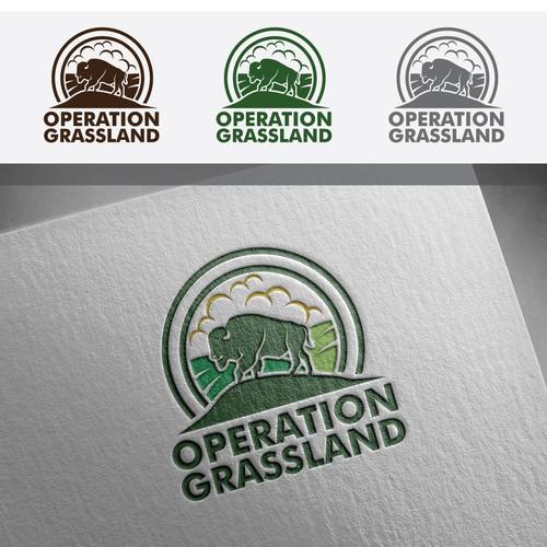 Grass land Logo