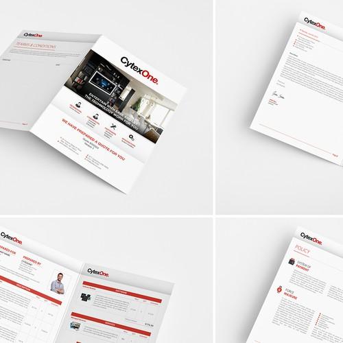 Sales Template Design