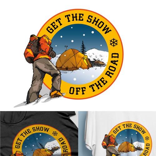 T-Shirt Design Off-grid Alaska