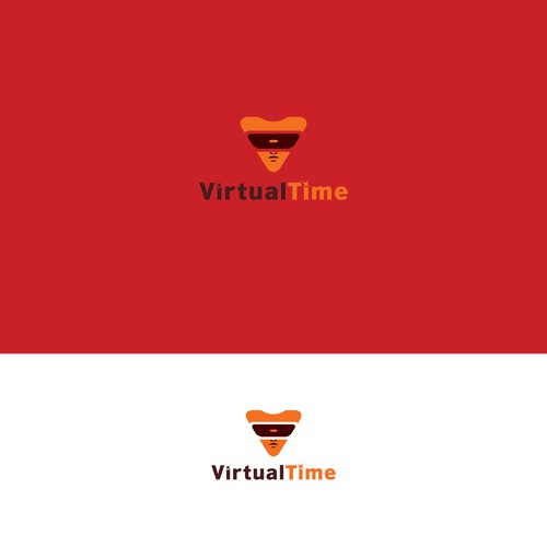Logo concept for Virtual Game