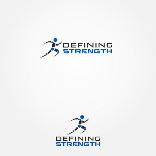 Defining Strength logo design
