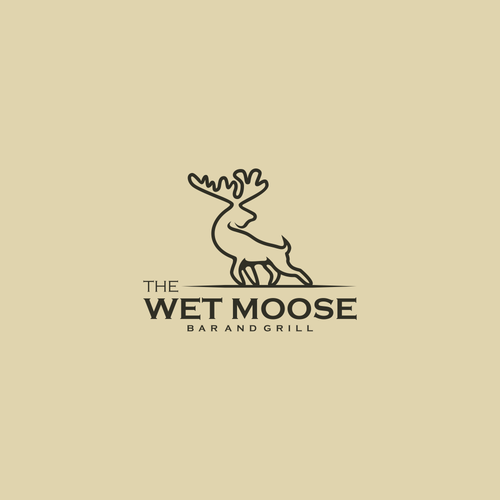 Logo for a bar and grill restaurant