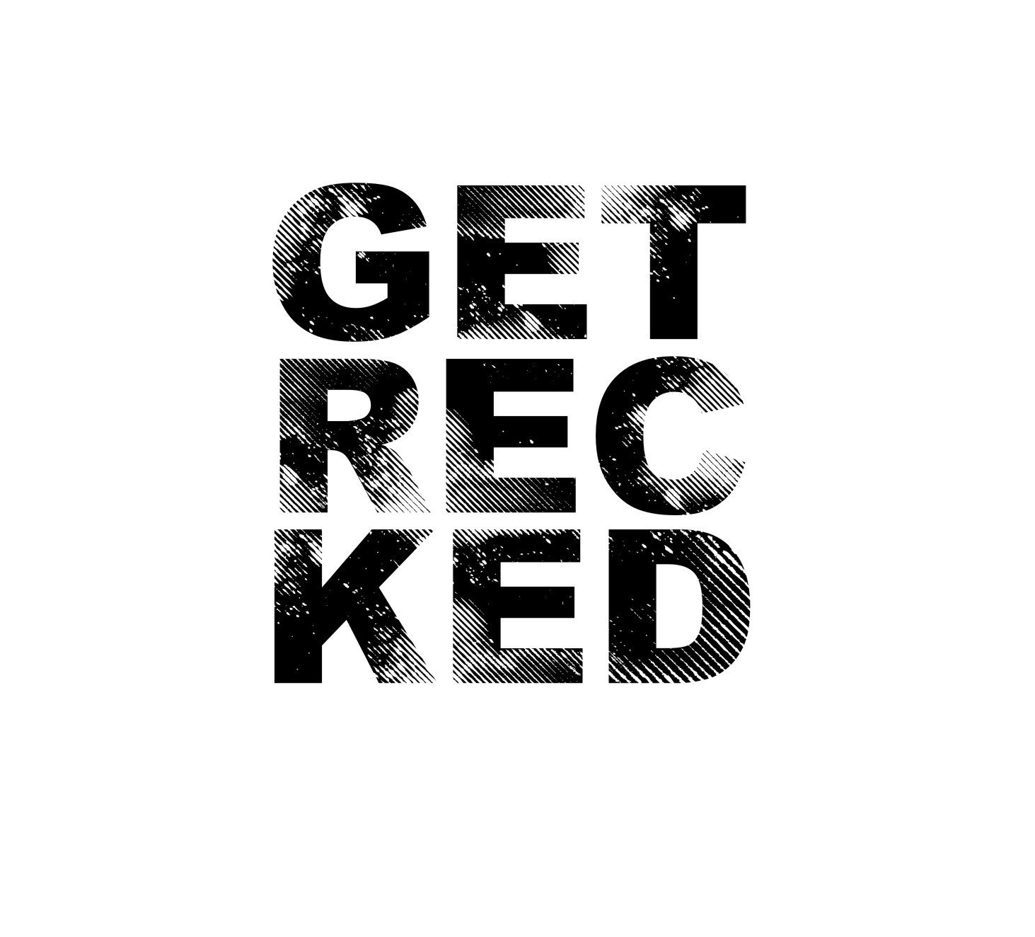 Help with Logo for Get Recked Music! (We may be famous someday...)