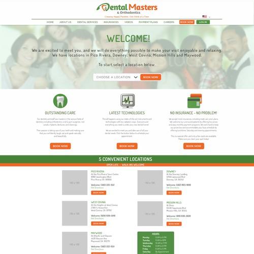 Landing Page for Dental Practice