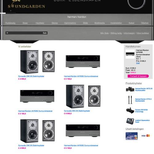 High End Audio Retailer