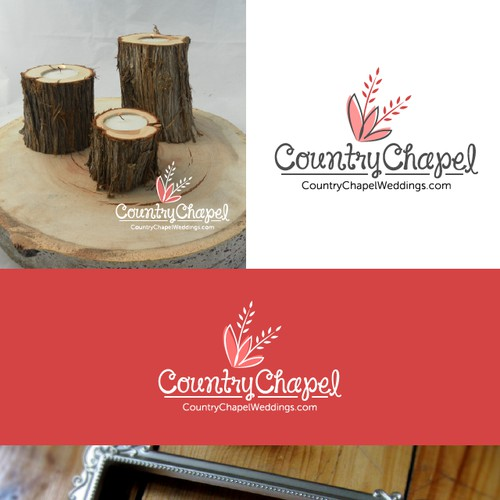 Create a logo for our handmade rustic wedding supply store