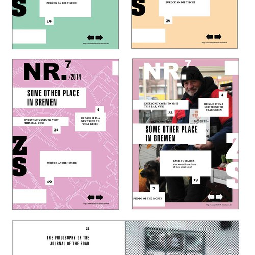 Re-design the Magazine of the Street