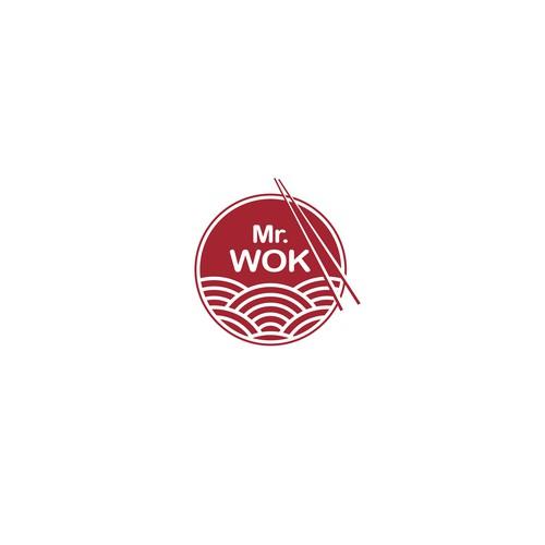 Mr Wok Logo