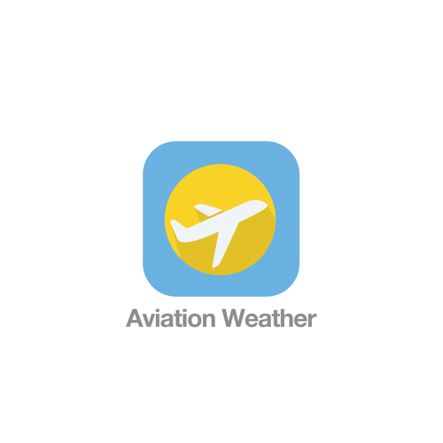 iOS7 Theme App Icon for Aviation Weather App