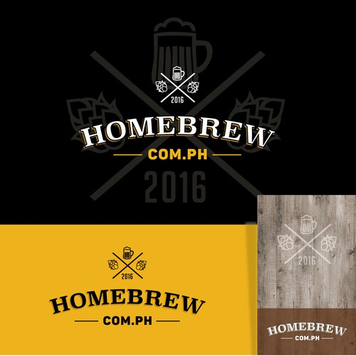 Logo for a Homebrewer site from Philipines