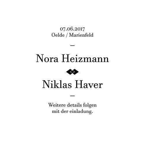 Design for a wedding invitation.