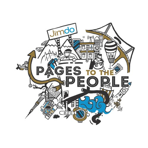"Creative t-shirt design needed to celebrate 6 years of bringing ""Pages to the People""!"