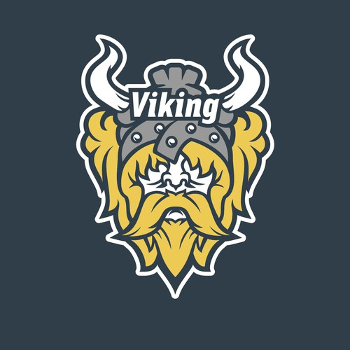 Powerful logo for the Viking Supercomputing Cluster