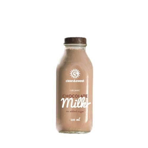 Label for chocolate milk