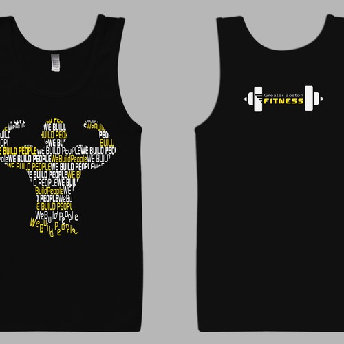 Need Tank Top Design for Our Gym That Will Excite and Motivate!