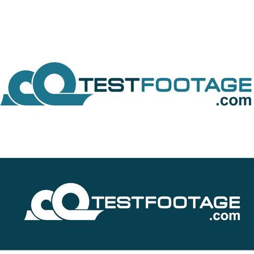 logo for testfootage.com