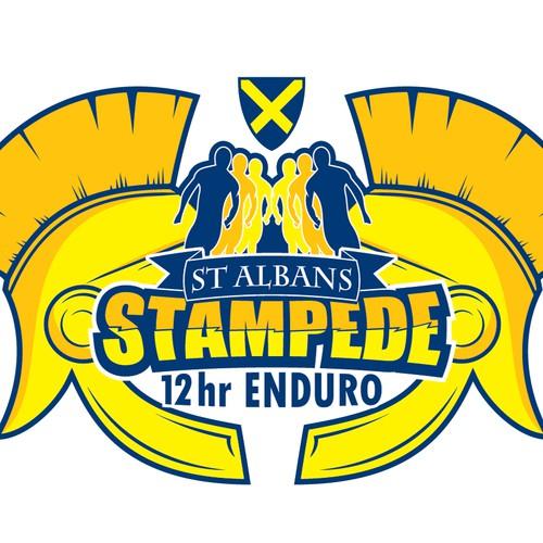 St Albans Stampede Logo