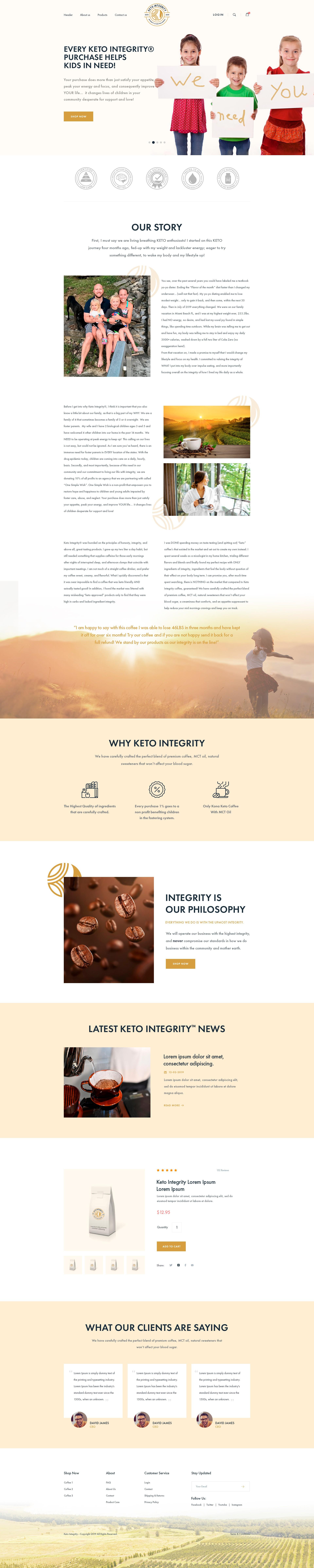 Ketogenic website