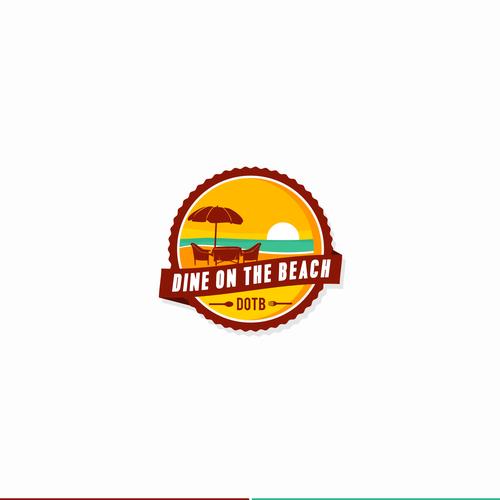 pictorial beach logo