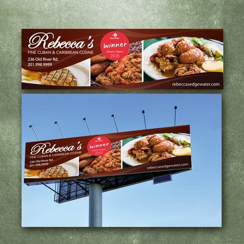 Dining Restaurant Billboard/Banner