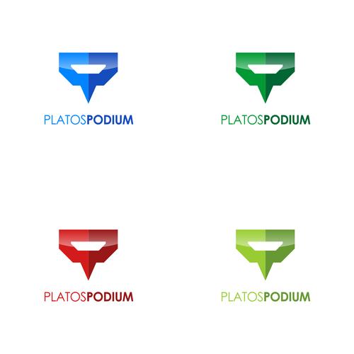 Logo for Plato's Podium