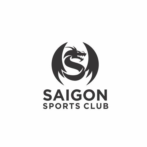 """Letter """"S"""" dragon Logo"""