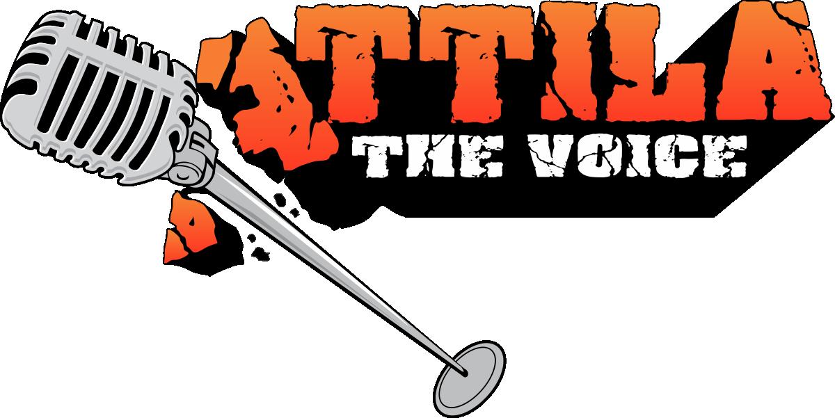 Help Attila The Voice with a new logo