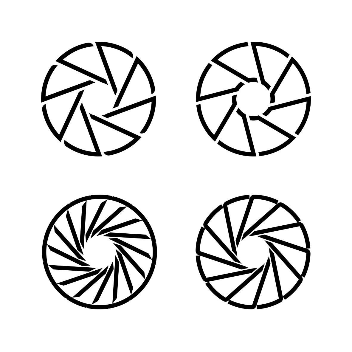 "Scene 2 needs a creatively designed logo that instantly conveys ""camera crew"""