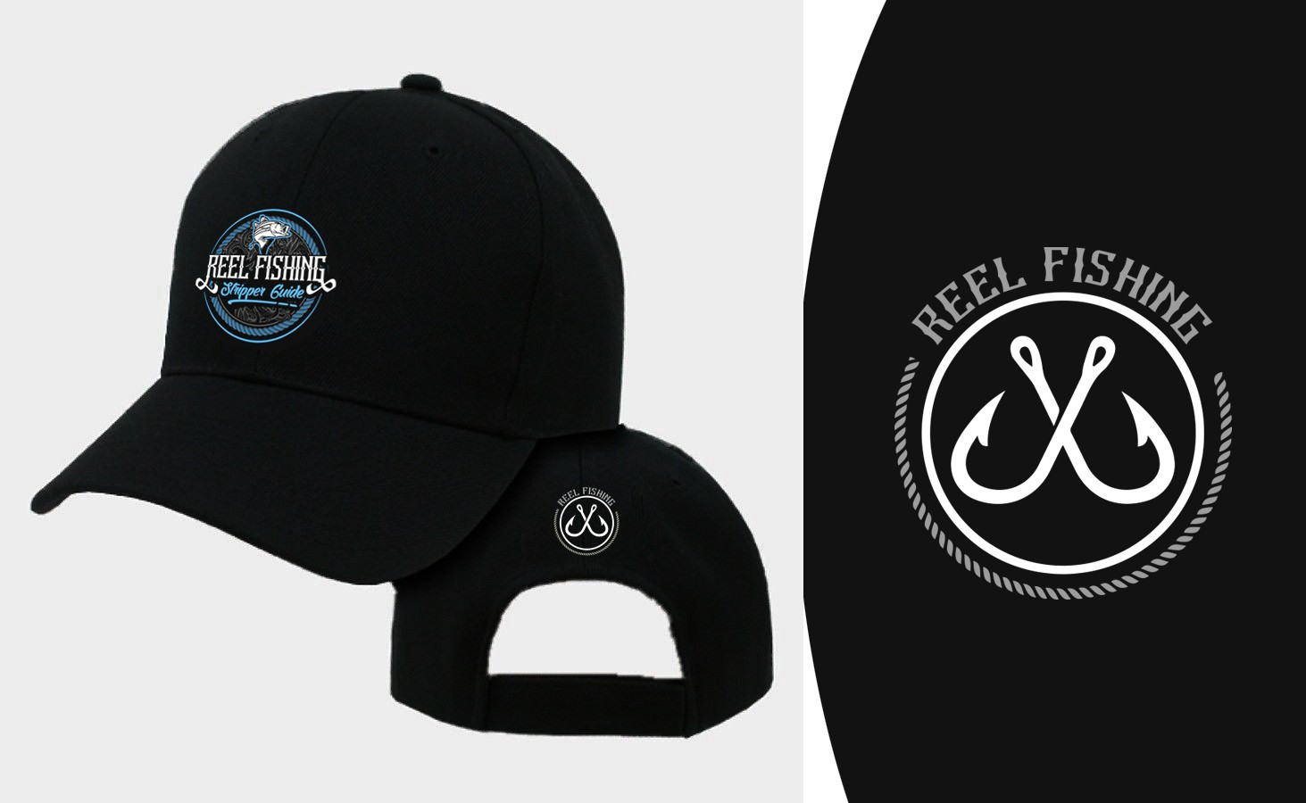 New hat for Reel Fishing Striper Guide