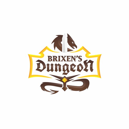 Logo for Brixen's Dungeon