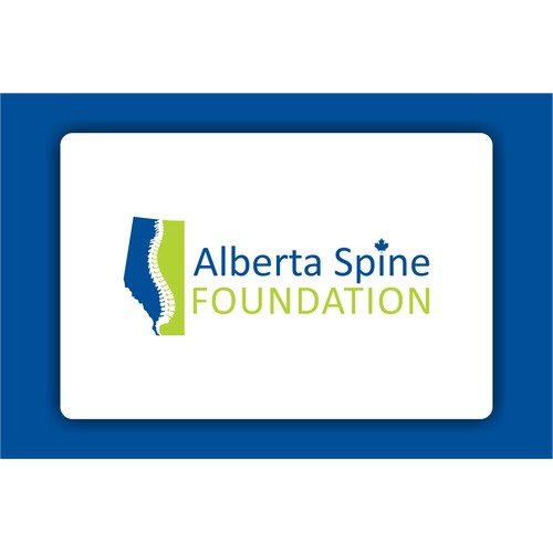 Create the next logo for Alberta Spine Foundation