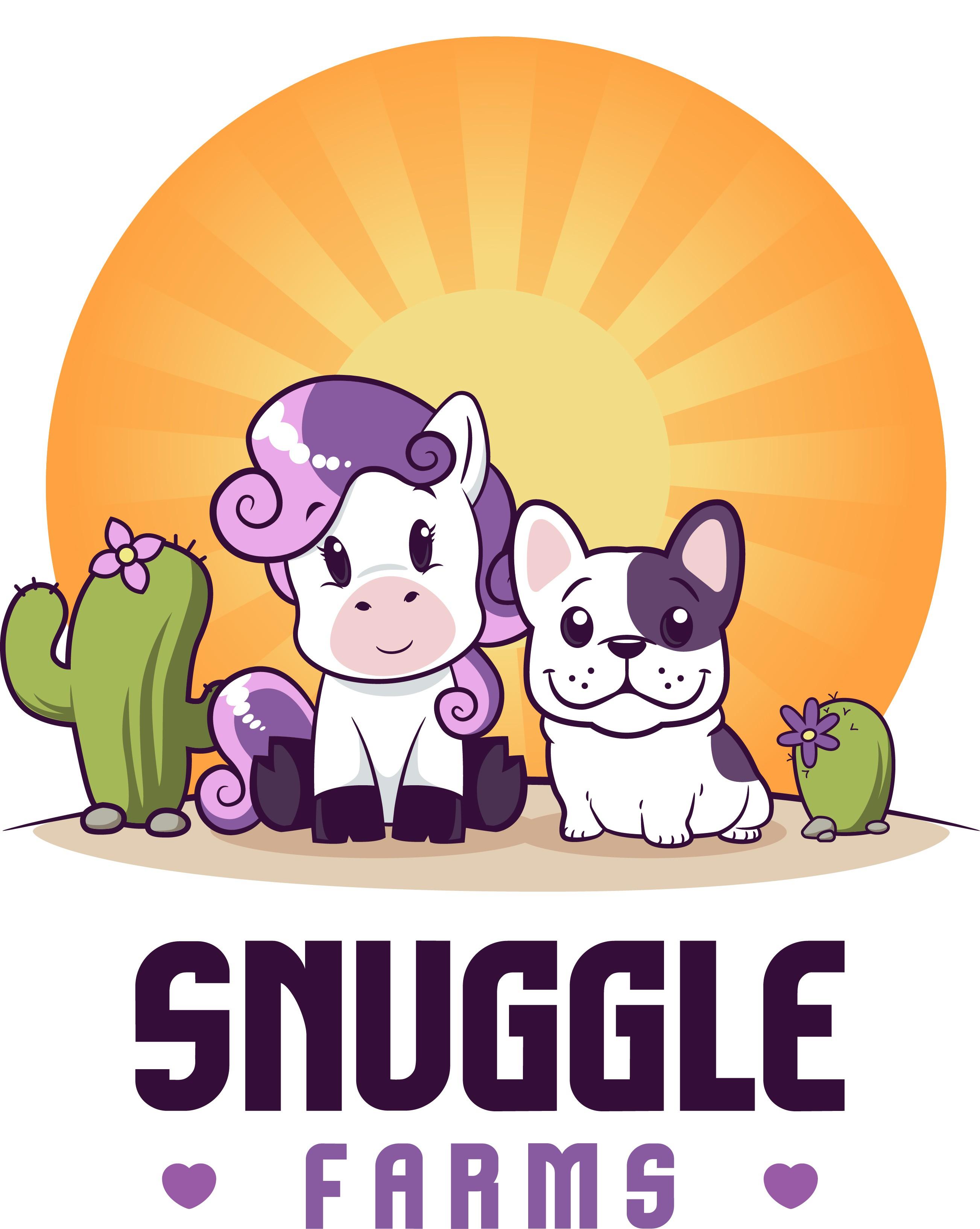 ADORABLE French Bulldog and Pony Logo Needed!  FUN TO DESIGN!