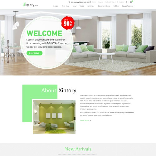 Design Creative E-Commerce Website