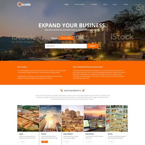 Vizzda Homepage