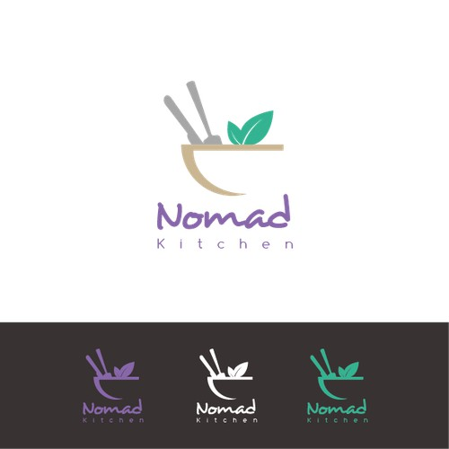 Nomad kitchen proposition logo