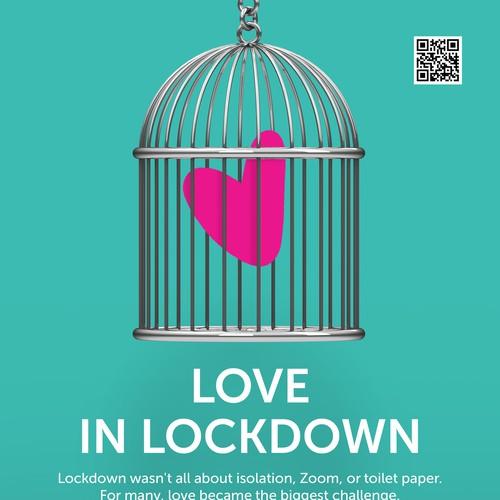 love in lockdown poster