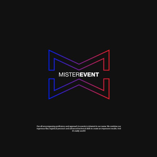 Logo Concept for Mister Event