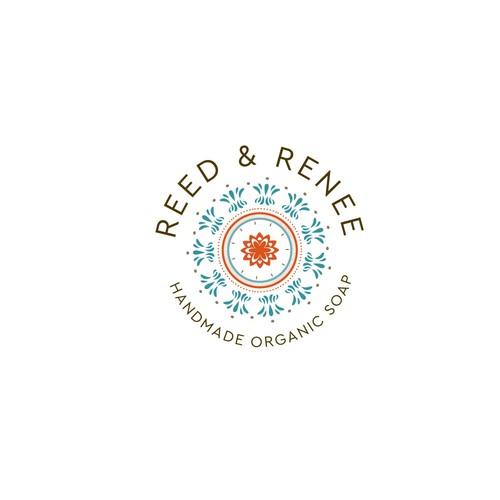 Modern logo for organic soap