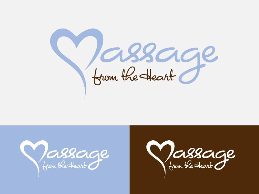 Massage from the Heart, LLC needs a new logo