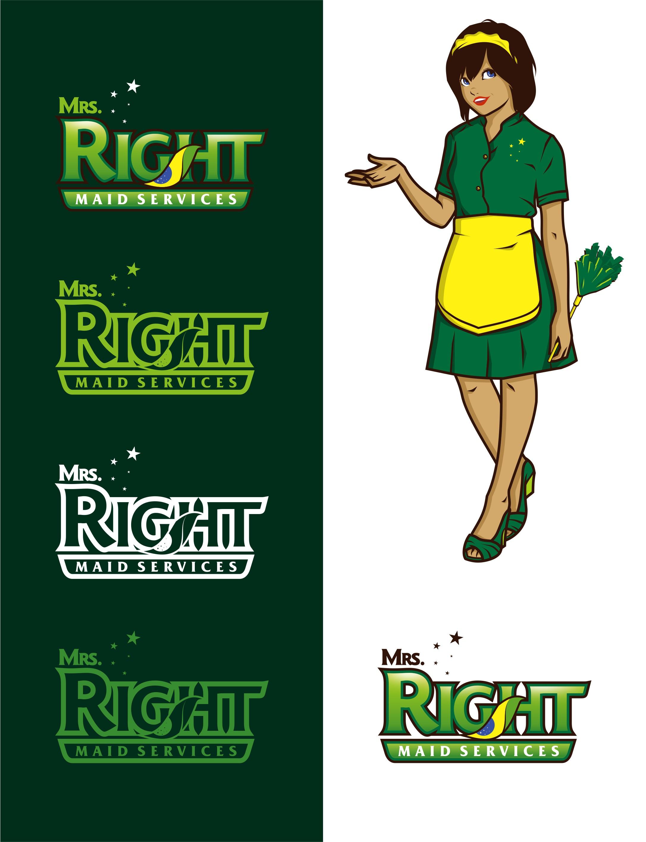 Fun Logo Maid Services & Brazilian Carnival Samba
